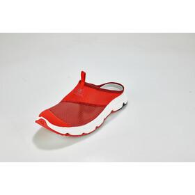 Salomon RX Slide 4.0 Zapatillas running Hombre, high risk red/white/red dahlia